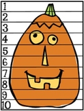 """Halloween """"Count By"""" Puzzles (1's, 2's, 5's and 10's)"""