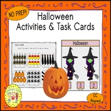 Halloween Count and Clip Holiday Task Cards