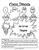 Language Arts Poetry with Halloween Art - How to Draw Count Dracula