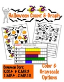 Halloween Count & Graph  - Common Core Measurement & Data