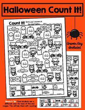 "Halloween ""Count It"" FREEBIE!"