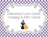 Halloween Count & Lace Cards (with additional ABC Cards)