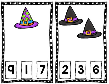Halloween Count and Clip