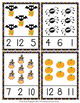 Halloween Count and Clip Cards Numbers 1-12