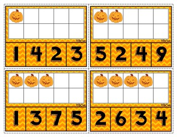Halloween Count and Clip FREEBIE!!