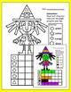 Halloween Math Count and Graph Activities: Witch, Bat, Frankenstein