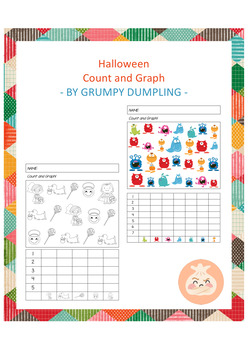 Halloween Count and Graph - Flash Freebie