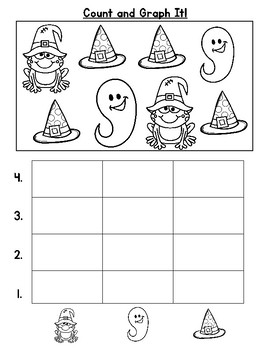 Halloween Count and Graph It Freebie