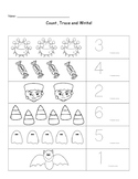 Halloween Count and Trace Numbers