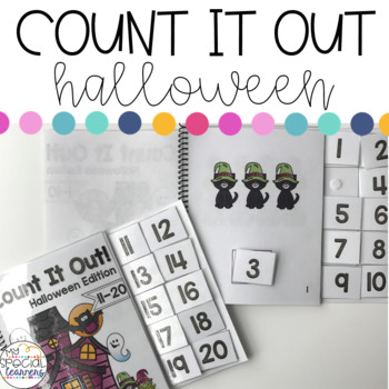Halloween Count it Out Adapted Book
