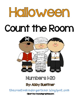 Halloween Count the Room