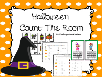 Halloween Count the Room - Ten Frames