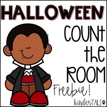 Halloween Count the Room Freebie