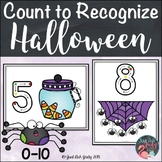 Halloween Count to Recognize Number Mats 0 to 10