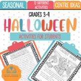Halloween Centre Ideas and Activities