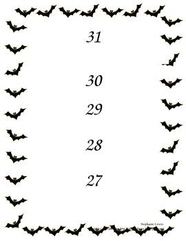 Halloween Countdown Poster