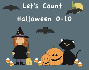 Halloween Counting Numbers 0-10 SMARTboard Activity