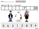 Halloween Counting! Free Kindergarten Math Counting page!
