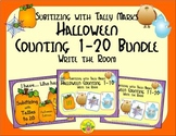 Halloween Counting 1-20 Bundle {Subitizing with Tally Marks}