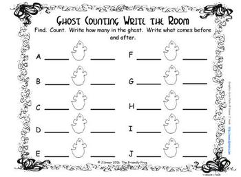 Halloween Counting 11-20 {Subitizing with Dice}