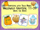 Halloween Counting 11-20 {Subitizing with Tally Marks}