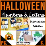 Halloween Counting Activities   Halloween Letter Puzzles  