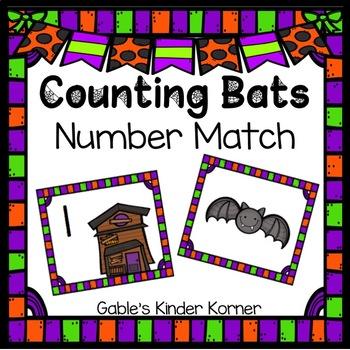 Halloween Counting Bats