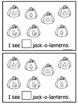 Halloween Counting Book