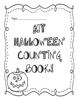 Halloween Counting Book - PreK, Kinder