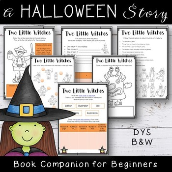 Two Little Witches - Literature Unit