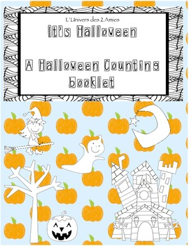 Halloween Counting Booklets