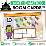 Halloween Counting Boom Cards™ | Ten Frames 1-10