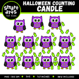 Halloween Counting Candles Clip Art