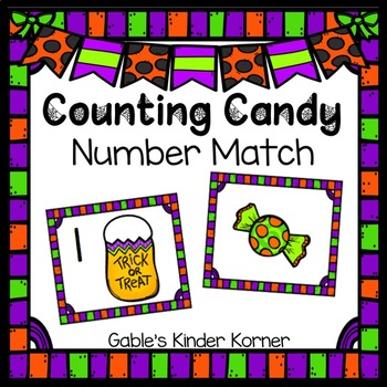 Halloween Counting Candy