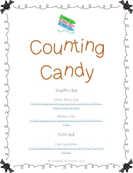 Halloween Counting Candy Game