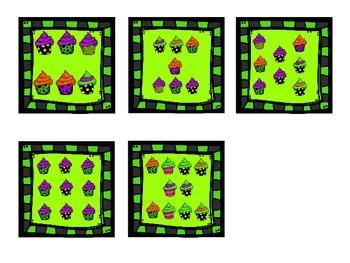 Halloween Counting & Cardinality Cards for Kindergarten 1 - 10 K.CC.6