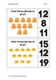 Halloween Counting Cards 11-20