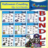 Halloween Counting Clip Card BUNDLE