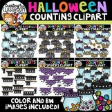 Halloween Counting Clipart Bundle {Halloween Clipart}