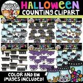 Halloween Counting Clipart Bundle {Halloween Clipart}