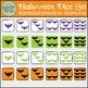 Halloween Counting Dice & Bat Clip Art Set {Messare Clips & Design}