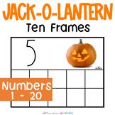 Jack-O-Lantern Counting Frames   Mini Eraser Math Center