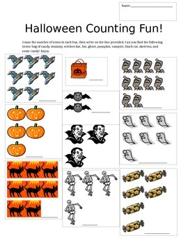 Halloween Counting Fun