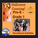 Halloween Counting SmartBoard Activities