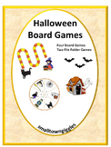 Halloween Math Centers Counting Games Fine Motor Special Education P-K, K