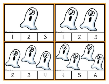 Halloween Counting - Ghost