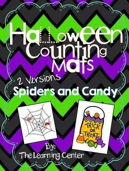 Halloween Counting Mat
