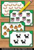 Halloween Math Activities & Games Counting Task Cards Kindergarten