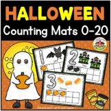 Halloween Play Dough Counting Mats 0-10