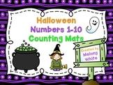Halloween Counting Mats 1-10